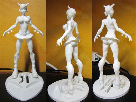 Anime 3d Print dj goh goh 3d print by studiofiftyone on deviantart
