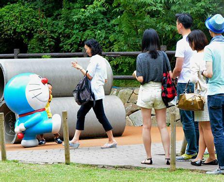 Figure Doraemon Asli Dari Museum Fujiko Fujio fujiko f fujio museum menarik 1 5 juta pengunjung