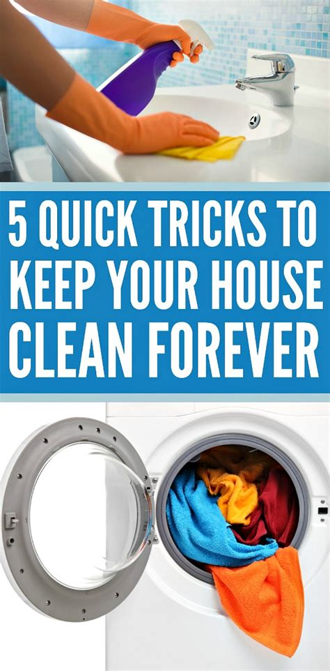 tips to clean your house 5 quick tricks to clean your house cleaning tips
