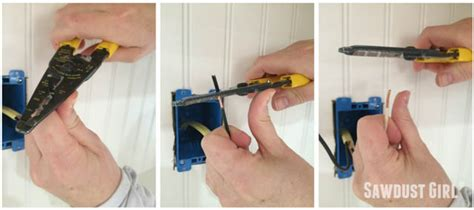 wiring an outlet electrical outlet wiring sawdust 174