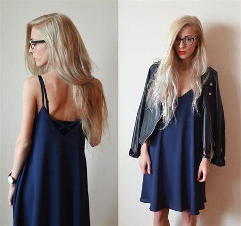 Dress Aneta aneta m dress navy dress lookbook