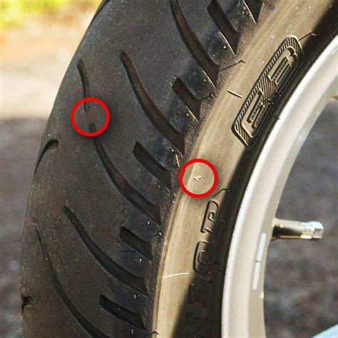 motorcycle tire wear bars      time  replace  tires south texas biker magazine