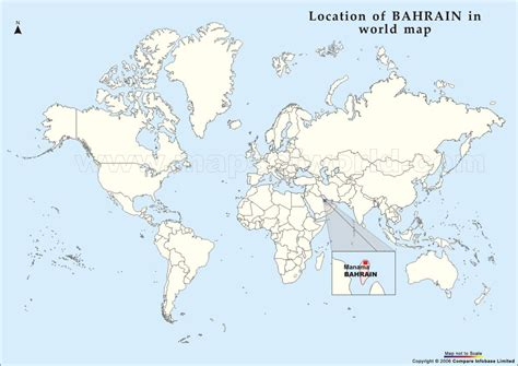 bahrain on world map world map bahrain