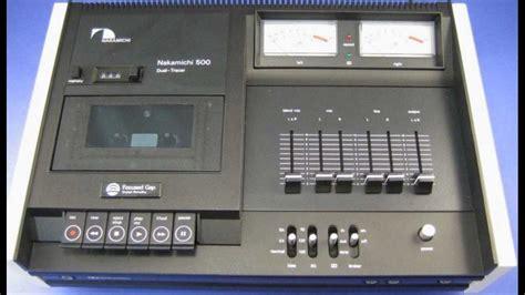 nakamichi cassette decks nib nakamichi 500 cassette deck