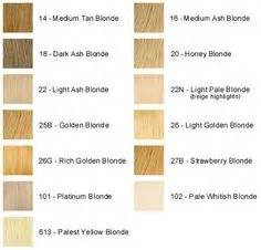 different l shades different shades of hair chart hair colors