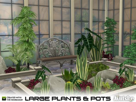 empire sims 3 3 small potted plants by lisen801 mutske s large plant and pots