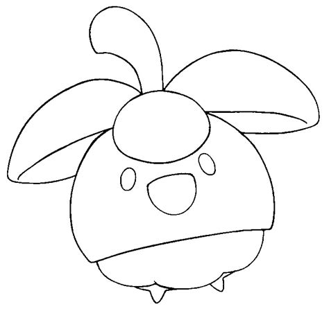morning kids net coloring pages pokemon coloring pages pokemon bounsweet drawings pokemon