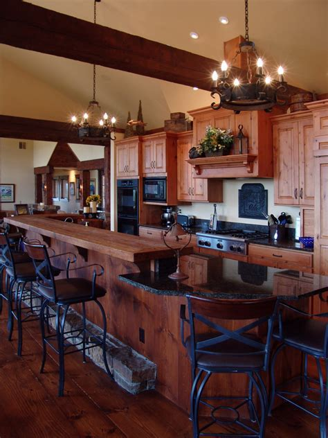 large kitchen islands with seating Kitchen Traditional