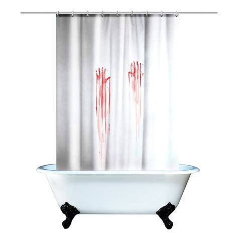 serial killer shower curtain funny shower curtains for interesting bathrooms gift canyon