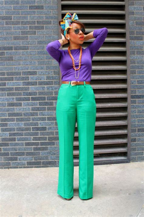 color blocking outfits   eye catching   spring