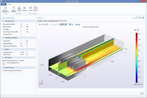 heat transfer module comsol 5 1 release highlights
