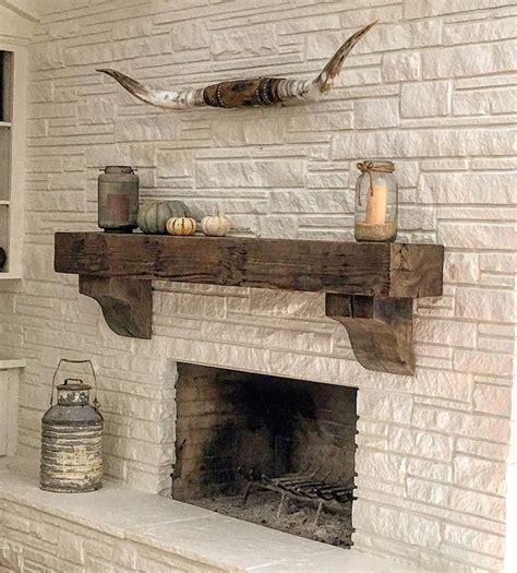 mantel brick fireplace reclaimed brick best 25 reclaimed wood mantle ideas on rustic