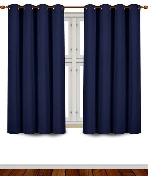 Navy Thermal Curtains Blowout Curtains Sale Ease Bedding With Style