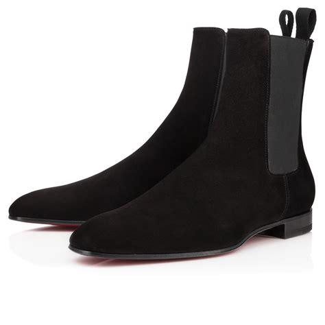 christian louboutin velvet boots christian louboutin