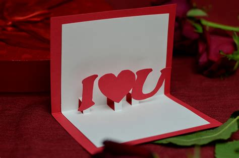 free pop up card templates valentines s day free pop up card template creative pop