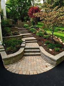 Walkway Ideas For Backyard Useful And Great Landscape Design For Sloped Backyard Yard Ideas Backyards