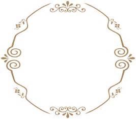 Clipart   Round decorative vintage frame