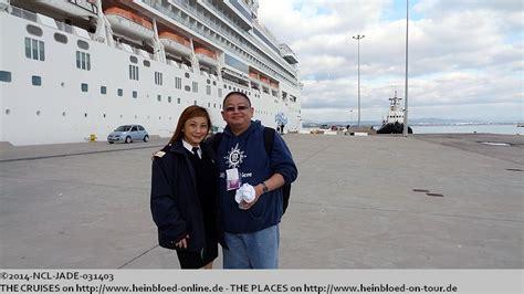norwegian cruise ta ncl epic ta 27 4 2014 miami barcelona kreuzfahrten treff