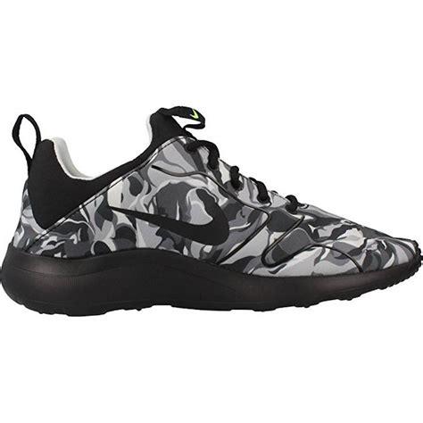 nike running shoes black and grey nike s kaishi 2 0 print running shoe wolf grey black