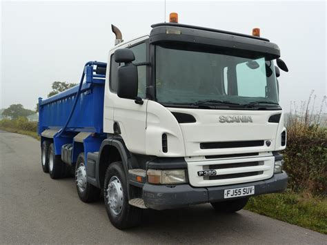 scania p380 8 x 4 steel tipper tipper trucks used