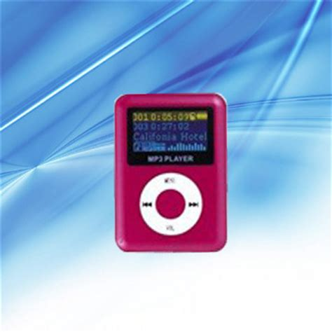 Dijamin Pod Mp3 Player Tf Card With Small Clip Silver And Lcd Screen small mp3 player images