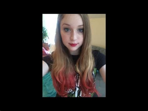 remove kool aid from hair removing kool aid from my hair youtube