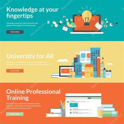 online education illustration flat design illustration flat design vector illustration concepts for online