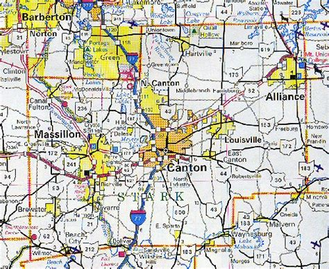 Stark County Ohio Property Records Stark County Map Ohio Ohio Hotels Motels Vacation Rentals Places To Visit In