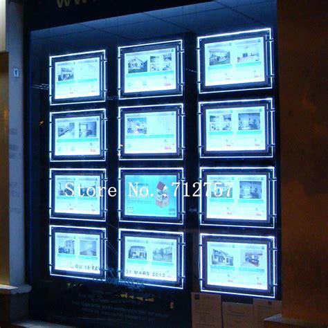 window light box 28pcs horizontal a3 acrylic poster frame light box hanging