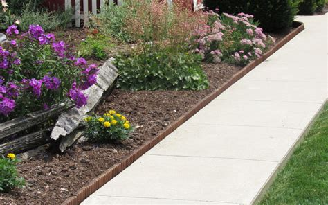 Garden Borders Edging Ideas Garden Borders And Edging Ideas Top 3 Ideas Eco Green Wood Products