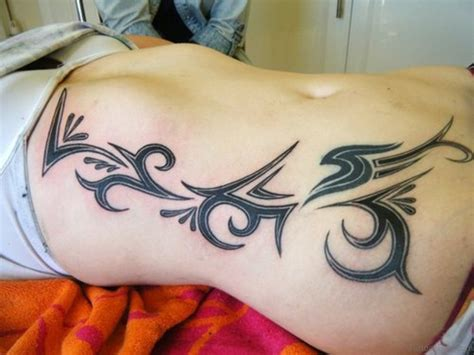tribal tattoo on side 54 best tribal tattoos for rib