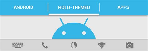 themes android holo list of free holo themed apps for android