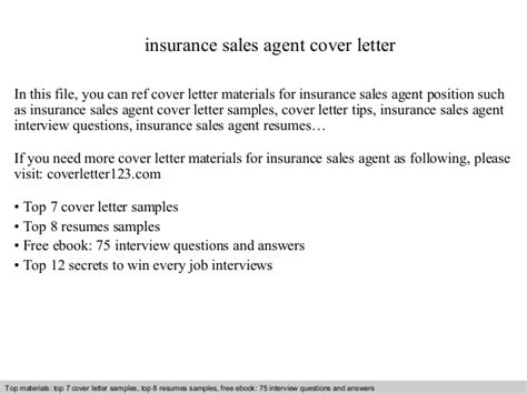 independent insurance agent cover letter unique claims adjuster