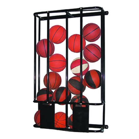 Basketball Holder Rack by Jaypro Sports Pe 240 Stackmaster Basketball Wall Rack