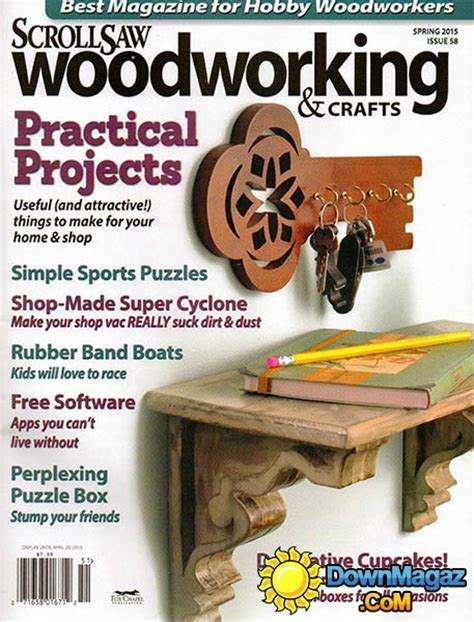 wood pattern magazines scrollsaw woodworking crafts 58 spring 2015
