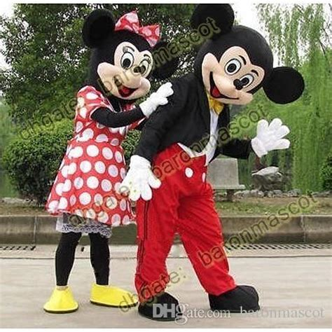 Mickey And The Suit 1 mickey and minnie mouse mascot costume suit size clothing fancy dress