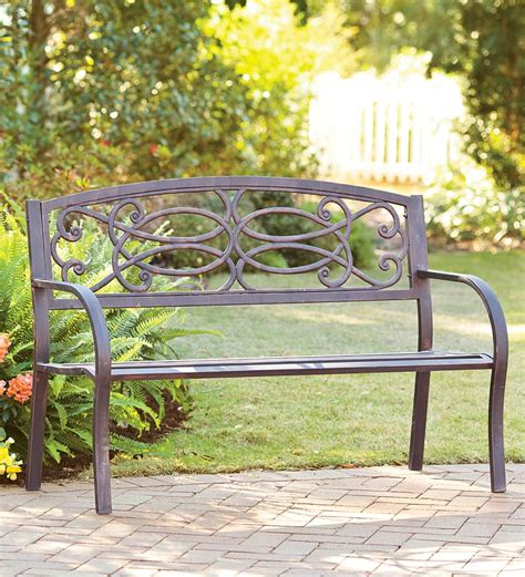 outdoor iron benches 24 perfect wrought iron benches outdoor pixelmari com