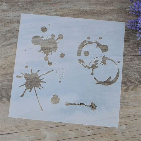 Decorative Craft Paper - aliexpress buy diy craft layering stencils for wall