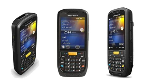 motorola mobile devices motorola mc45 rugged pda is launched the rugged and