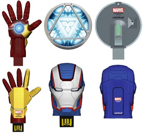 Iron Gloves Usb 2 0 Flashdisk just released iron 3 flash drives allusb