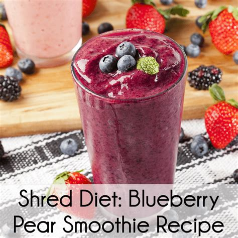 Shred Detox Reviews by Dr Oz Dr Ian Smith Shred Diet Review Blueberry Pear