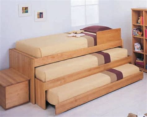 Bunk Beds With Pull Out Bed Bunk Bed Ideas For Tiny Houses For Tiny House Families Bunk Bed Tiny Houses And House