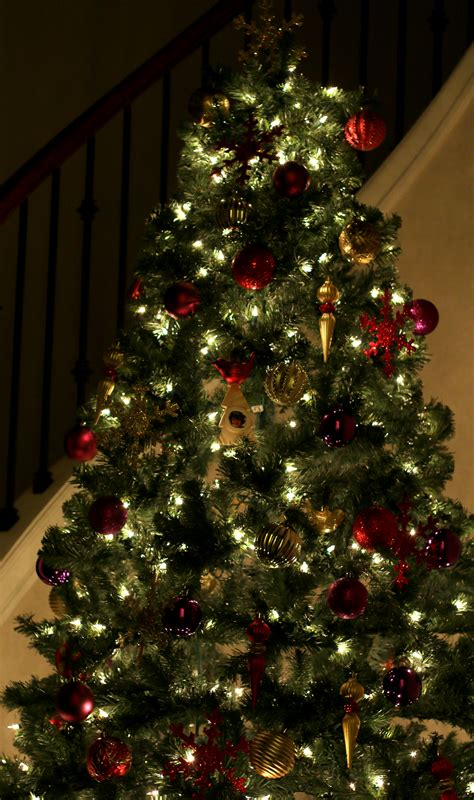 our christmas tree is up is yours up yet a peek at my