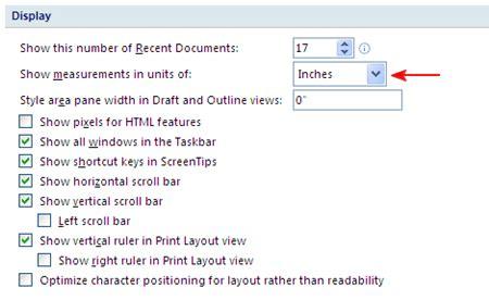 converter cm ke inci cara merubah satuan inchi ke cm pada ms office word 2007