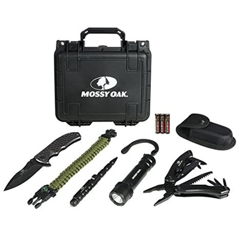 Survival Kit Outdoor Tactical Multi Tools B9 mossy oak outdoor gear kit with multi tool folding pocket