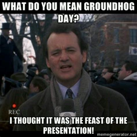 Bill Murray Groundhog Day Meme - 18 best images about feb 2nd ground hog day on pinterest