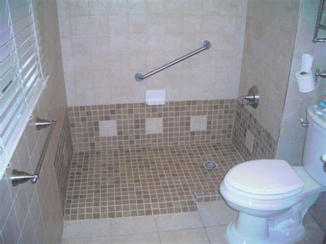 accessible showers bathroom barrier free bathrooms