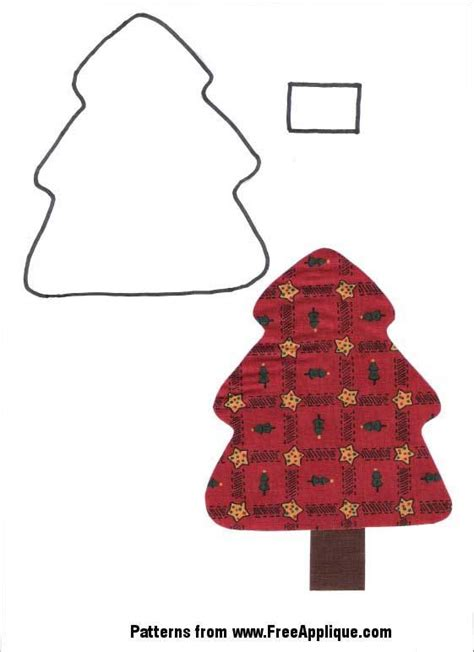 pattern for applique christmas tree pinterest discover and save creative ideas