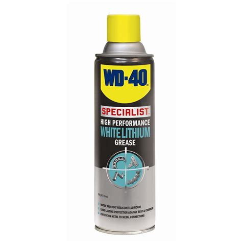 Promo Wd40 Specialist High Performance White Lithium Grease Jv 21l B wd 40 specialist 300g high performance white lithium grease
