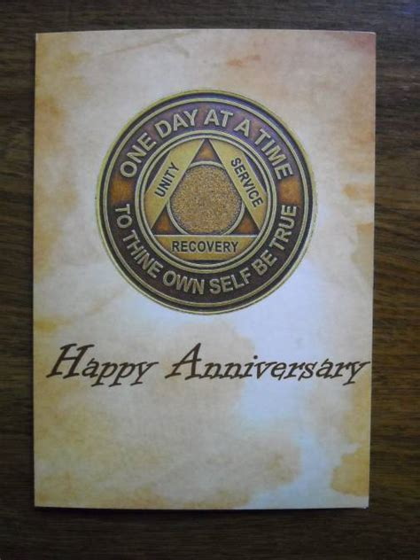 printable aa anniversary cards traditional aa birthday card